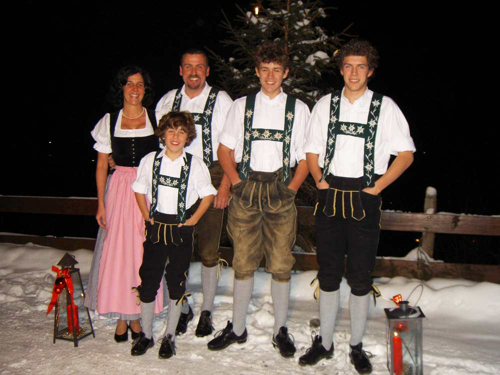 Familie Zeller Winter